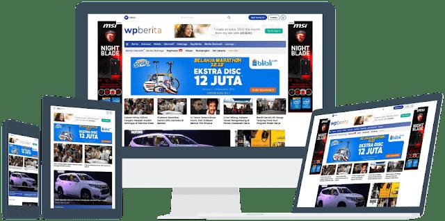 Download Theme WPberita Wordpress (100% Original)
