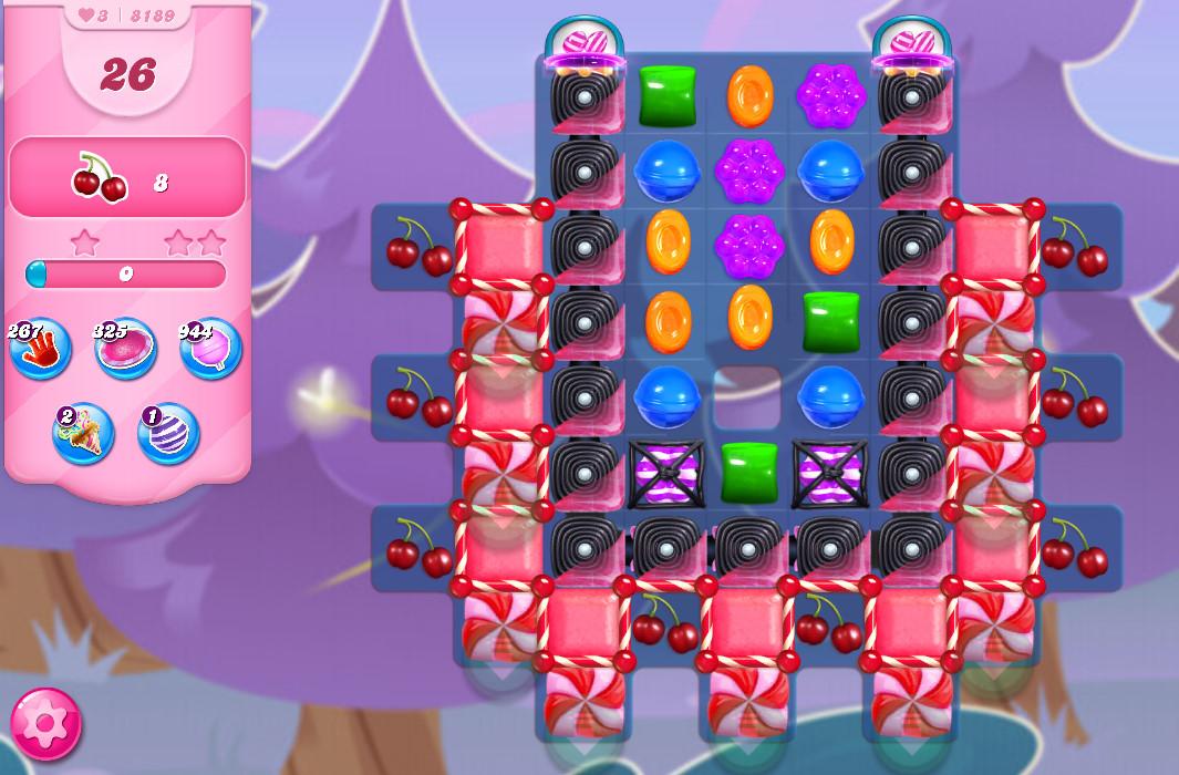 Candy Crush Saga level 8189