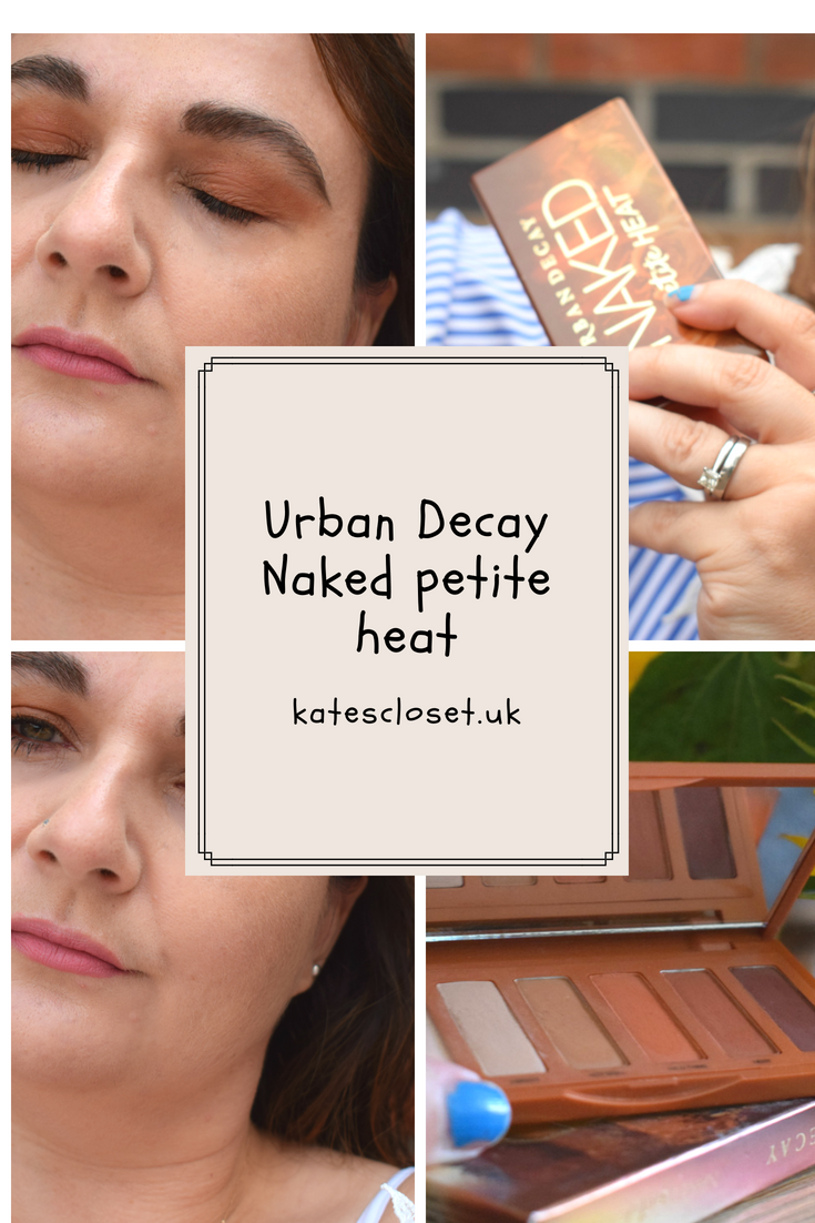 Urban Decay Naked petite heat review