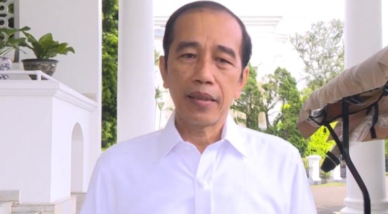 Jokowi Sampaikan Dukacita Mendalam atas Jatuhnya Pesawat Sriwijaya SJ 182