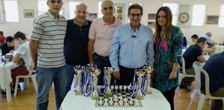Στα Φάρσαλα διεξήχθη ένα από τα μεγαλύτερα σκακιστικά ραντεβού της Ελλάδας