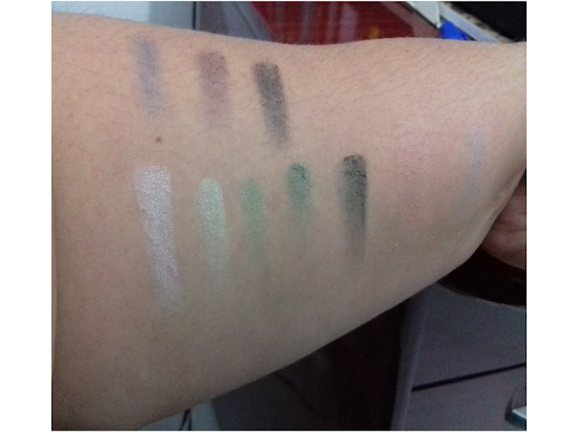 Paleta Eyes Design Smoked Luisance - Swatches Sem Flash