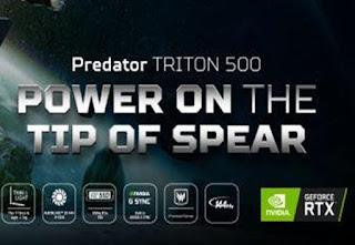 Laptop ACER Predator Triton 500 PT515-51-713V