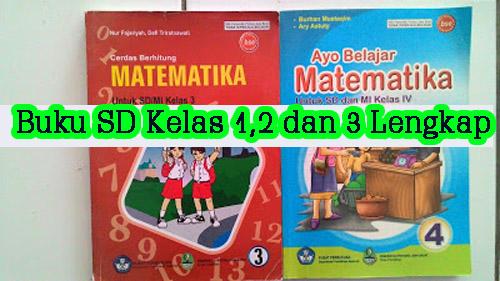Buku SD kelas 1, 2 dan 3 Lengkap semua Mapel
