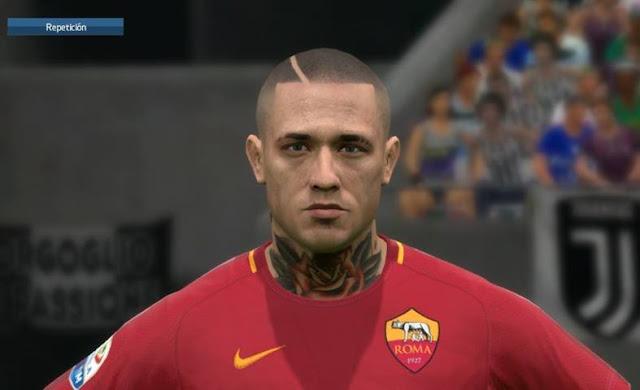 Face Radja Nainggolan PES 2017