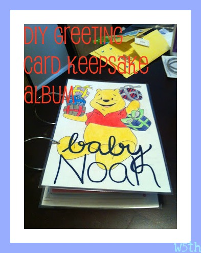 Diy greeting card keepsake album then i remembered a great idea i saw awhile ago on how to create and present a greeting card memory book the best part being that i could pass it down m4hsunfo