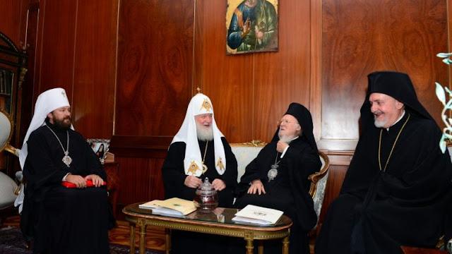 Σε κλοιό ο Βαρθολομαίος από Πούτιν και Ερντογάν