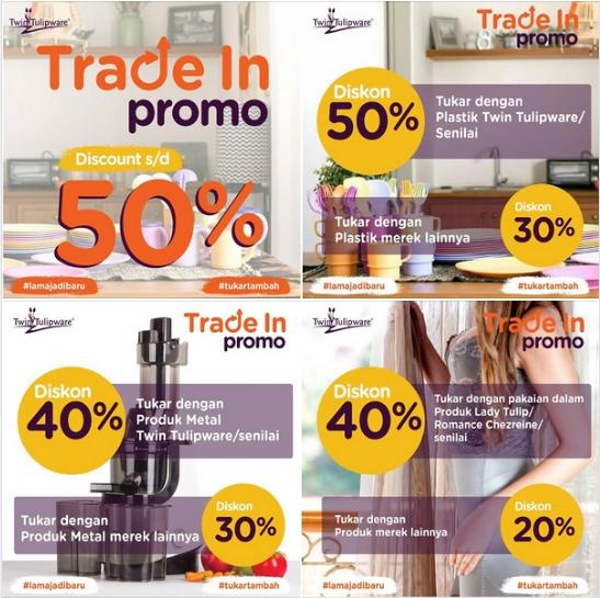 Promo Trade In Twin Tulipware 2020