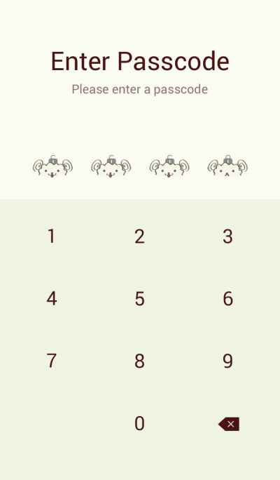 Lovely sheep simple theme