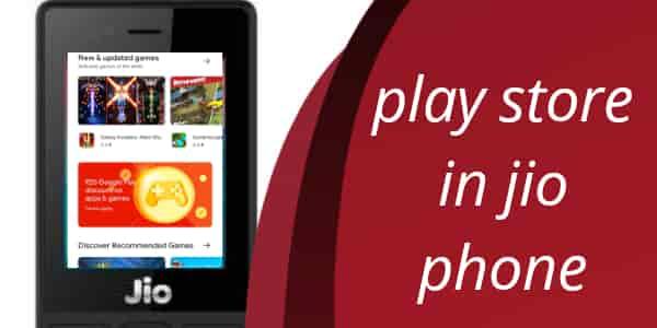Jio phone me play store chalaye