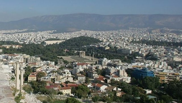 Not far from Athens there was an earthquake of magnitude 4.9