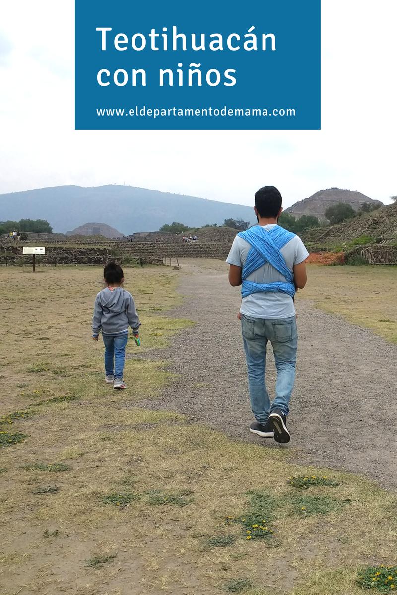 Teotihuacán con niños
