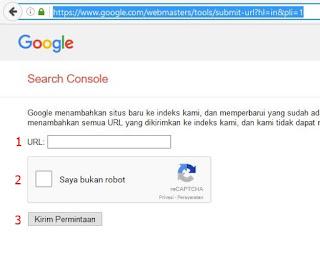 Webmaster Submite URL