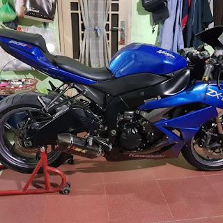 BURSA MOGE BEKAS : Dijual Kawasaki ZX6R 2011 Harga Dibawah 150 Juta