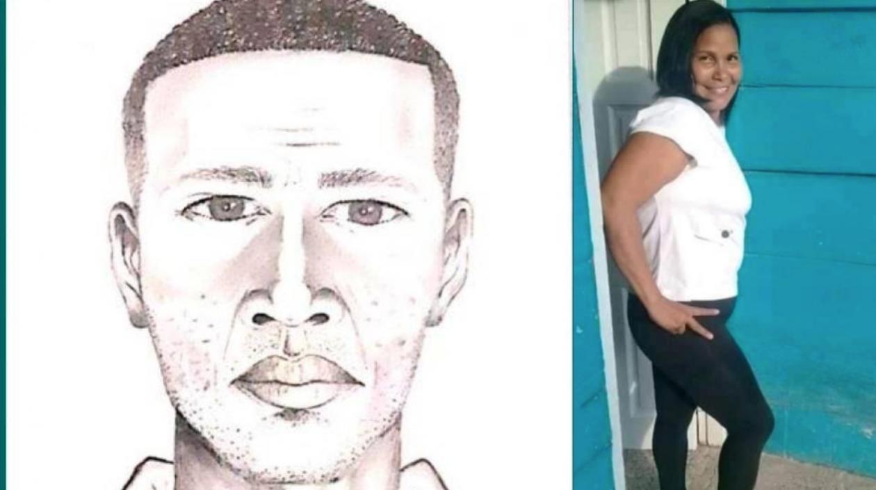 hoyennoticia.com, Retrato hablado del hombre que estrangulo a una mujer en Cartagena