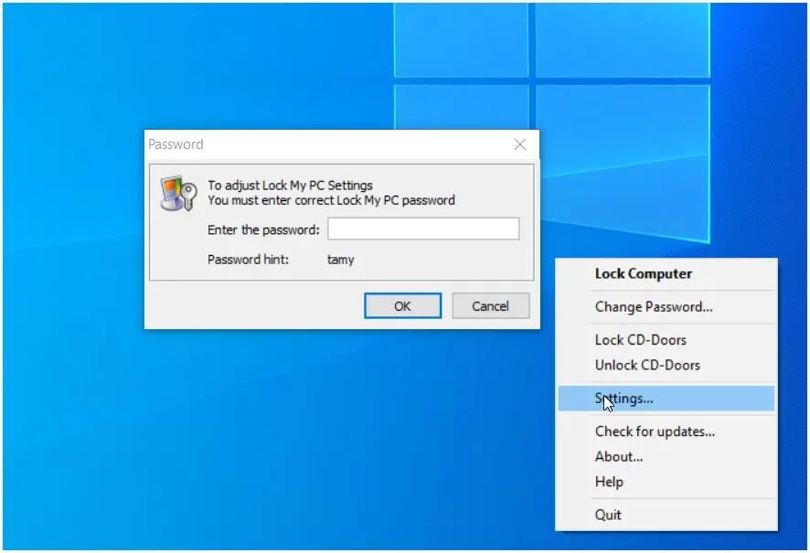 Lock My PC : Ένας απλός τρόπος για να κλειδώσετε τον υπολογιστή σας