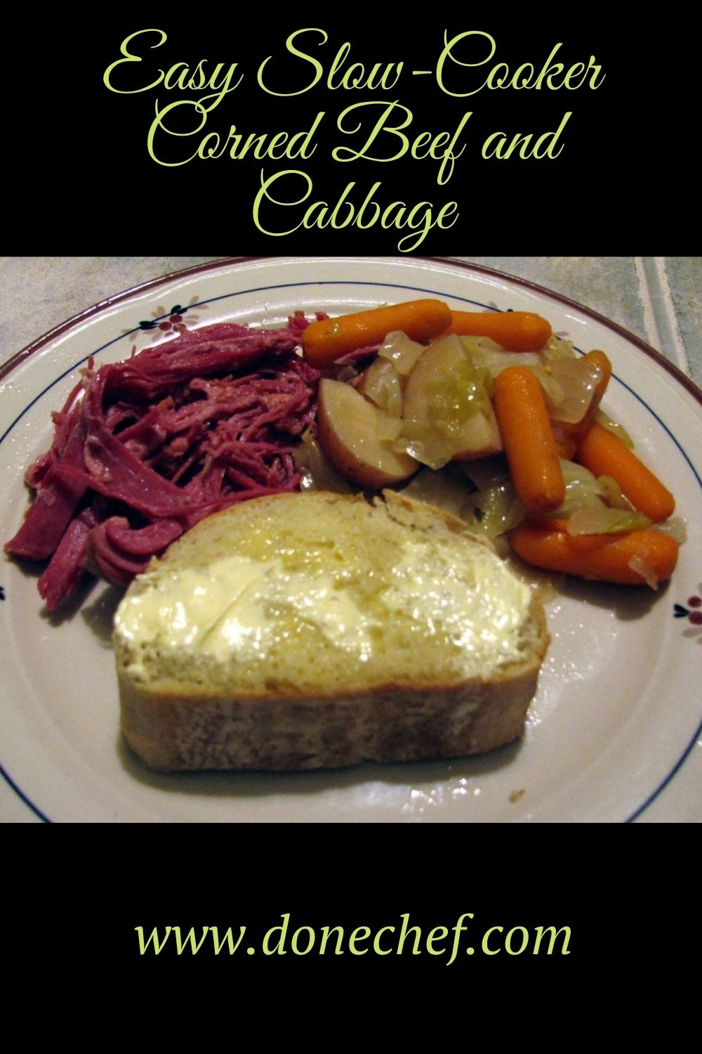 Easy Slow-Cooker Corned Beef and Cabbage