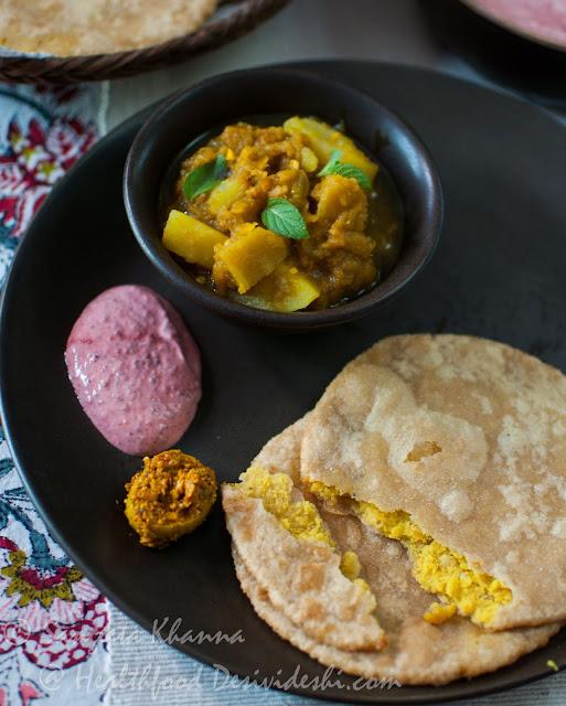 daal bhari poori recipe