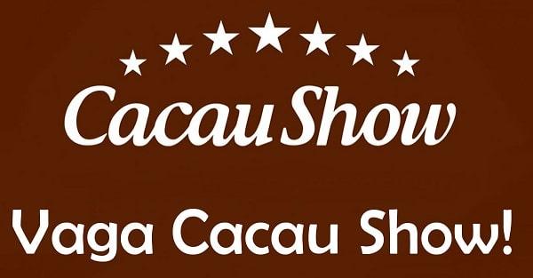 Cacau Show contrata Operador de Loja Sem Experiência