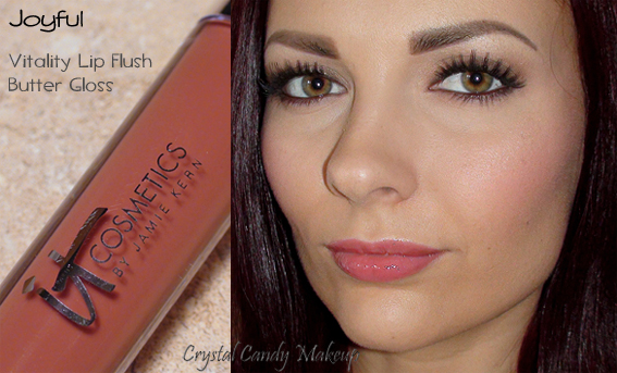 Vitality Lip Flush Butter Gloss de It Cosmetics Joyful - Review - Swatch