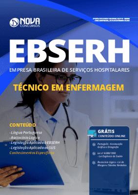 Apostila Concurso EBSERH 2020 Técnico em Enfermagem Grátis Cursos Online