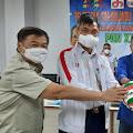 Kadispora DKI Jakarta Melepas Tim Bola Voli Indoor dan Pasir Menuju PON XX Papua