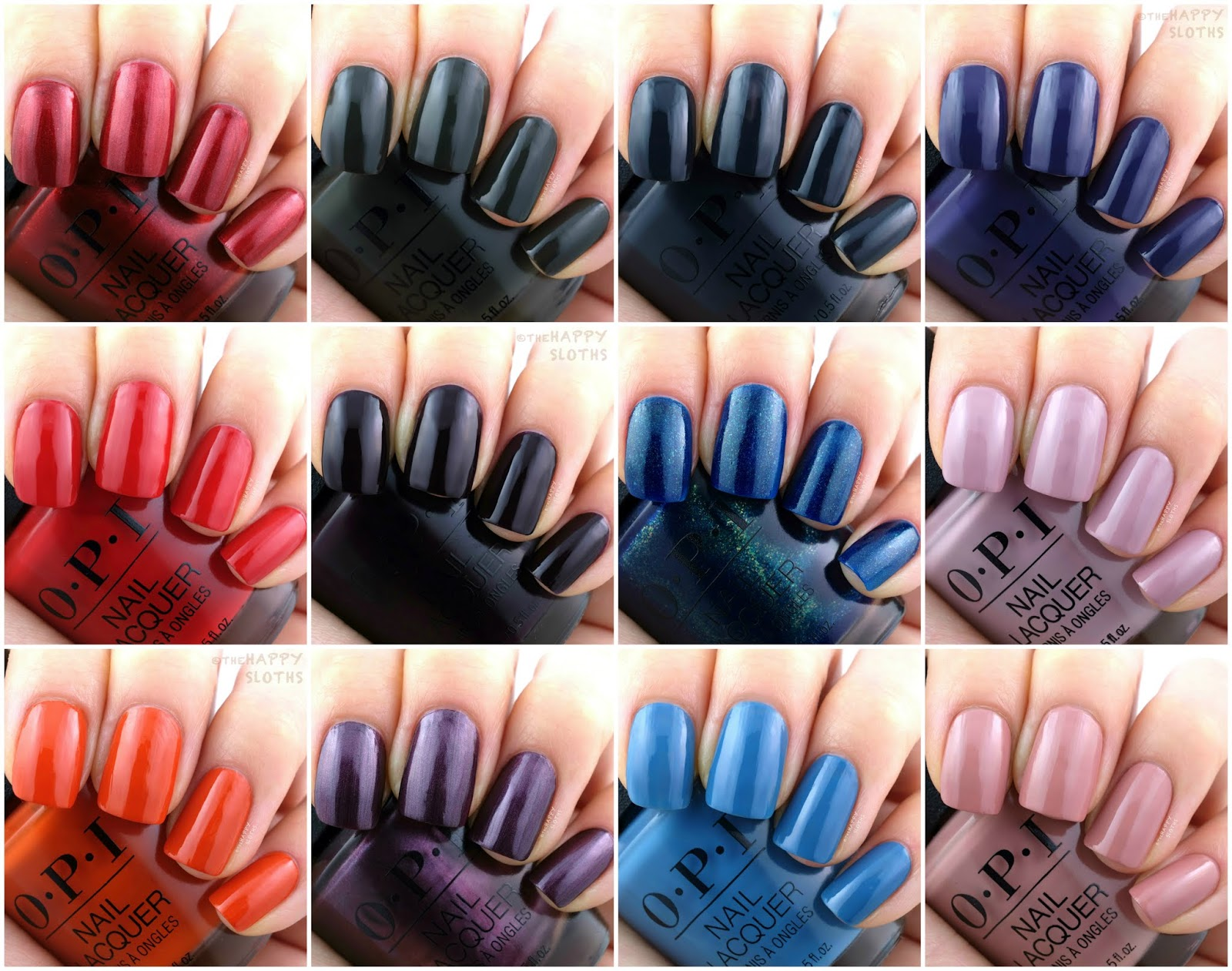 OPI | Fall 2019 Scotland Collection: Review and Swatches