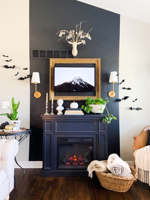 fireplace mantle style