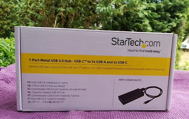 Startech 7-Port Metallic Usb 3.0 To Usb-C Hub Amongst Fast Charging