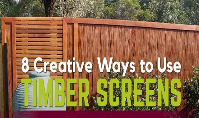 8 Creative Ways to Use Timber Screens in Your Garden