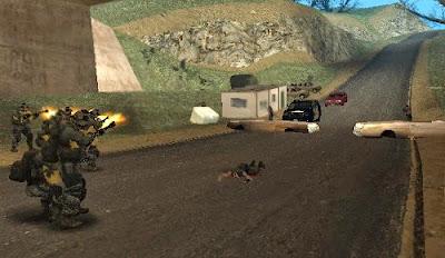 Mod Battle Of Desert Part 1 (DYOM)