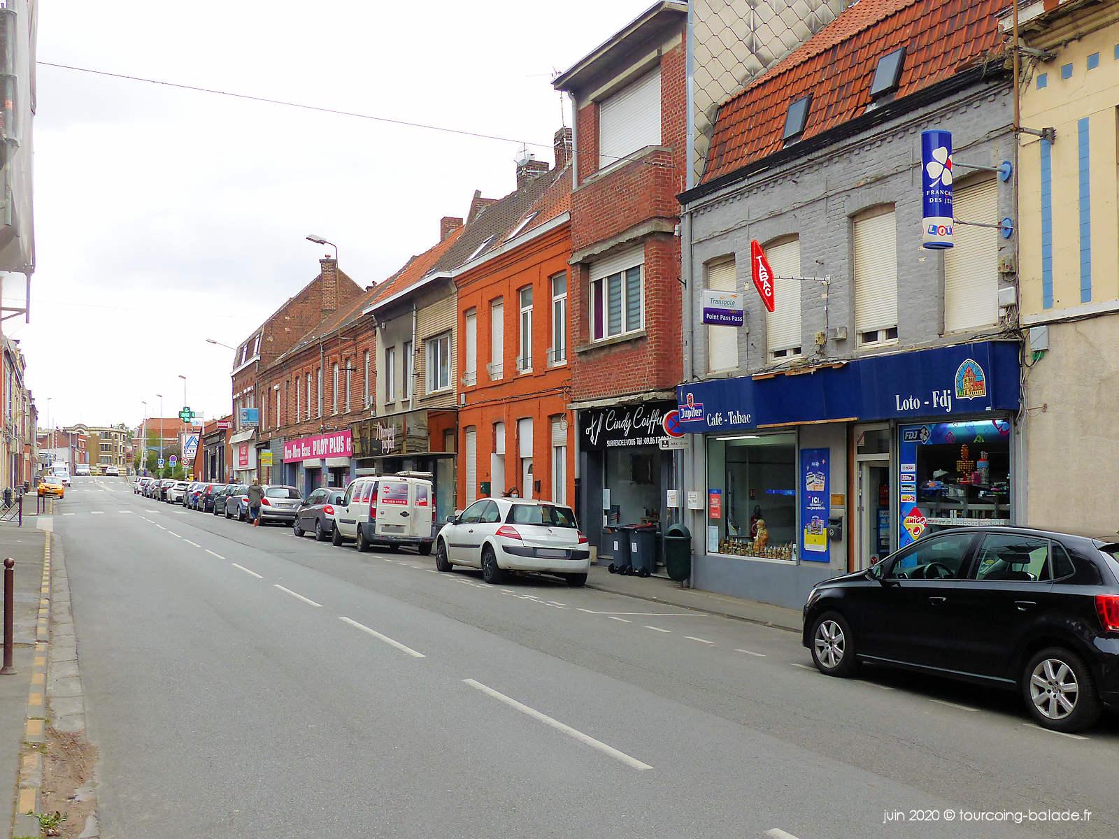 Rue de Mouvaux, Tourcoing