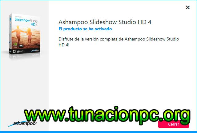 Ashampoo Slideshow Studio HD, Crea Presentaciones y Albumes