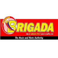 Brigada News FM DYBA 89.3 San Carlos logo