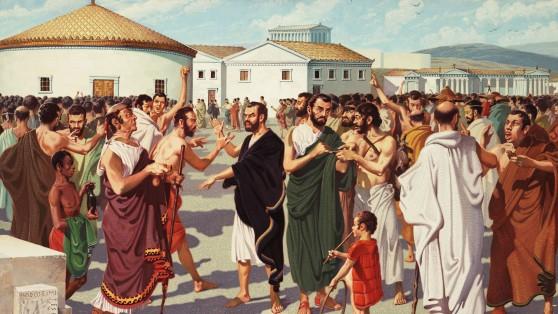 I Greci e la vita pubblica