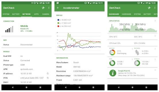 6 تطبيقات لفحص وإختبار هاتف الاندرويد وكشف الأعطال والمشاكل
