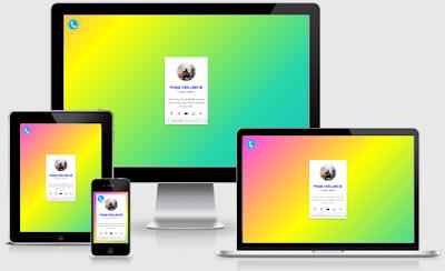 Share Template Profile- Giới Thiệu Bản Thân Version 1.0