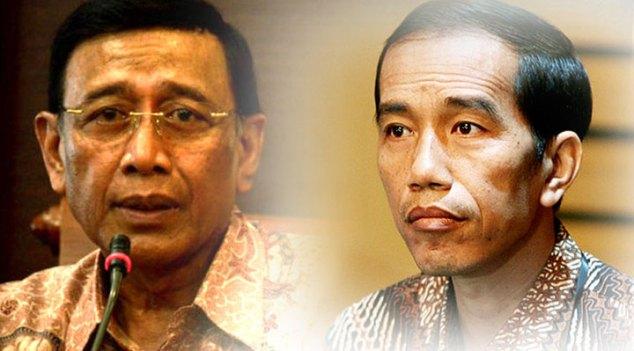 Wiranto Sampaikan Pengunduran Diri di Depan Jokowi