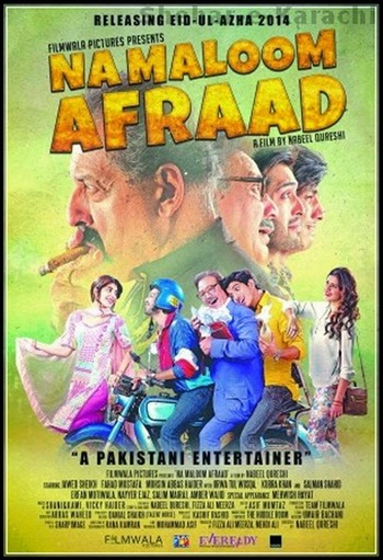Na Maloom Afraad 2014 Urdu WEB HDRip 700mb ESubs