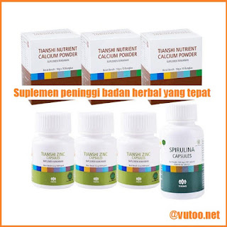 suplemen peninggi badan herbal yang tepat