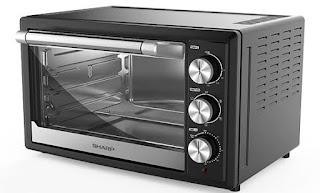 sharp merk oven listrik yang bagus