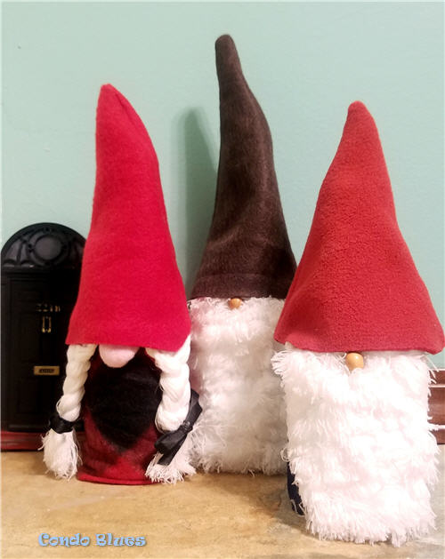 how to make Christmas gnome decorations