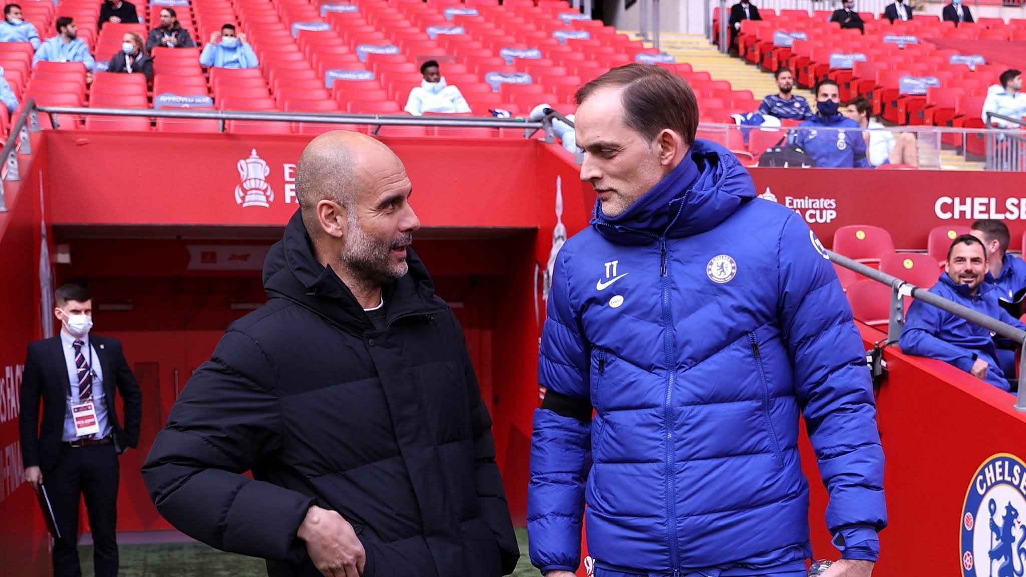 Thomas Tuchel faces Pep Guardiola in the headline match between Man City and Chelsea