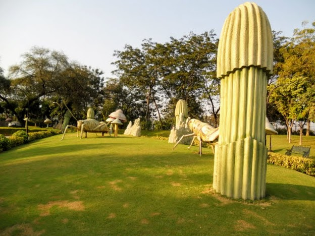 What to see in Hyderabad India: NTR Garden