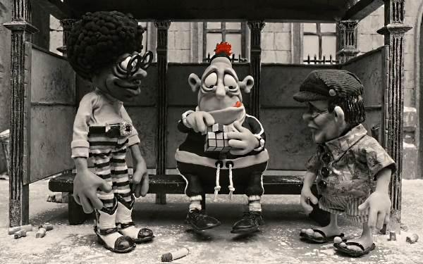Imagen de la película australiana de animación en stop motion Mary and Max