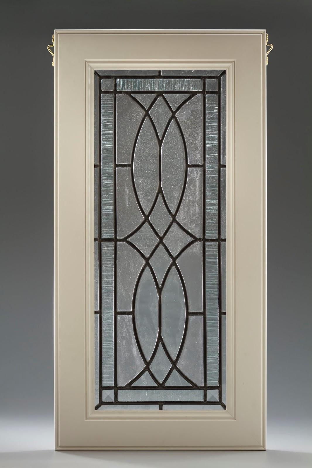 Leaded Glass Cabinet Door Laura Goff Designs