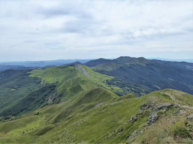 panorama dal monte rotondo