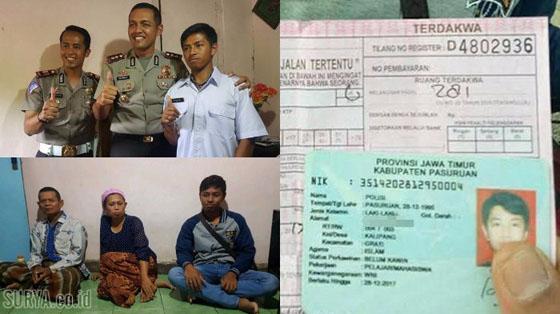 Berawal Kena Tilang, Nasib Mujur Dialami Pemuda Bernama Polisi