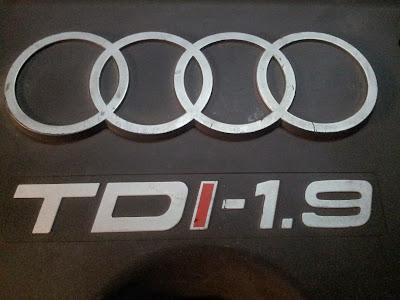 Logo tapa motor Audi A3