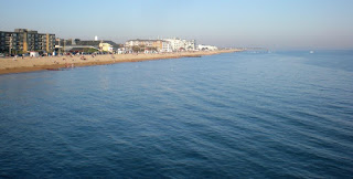 Bognor Regis seafront from the pier